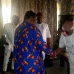 Just in!! Senator Kalu visits Popular Cleric, Reverend Uma Ukpai